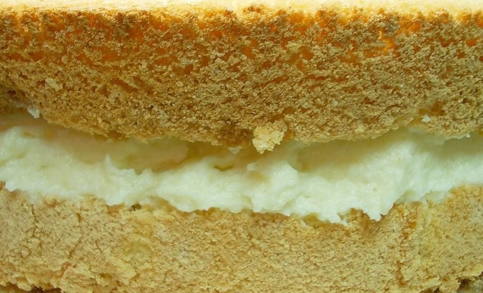 Торт бисквит с манным кремом