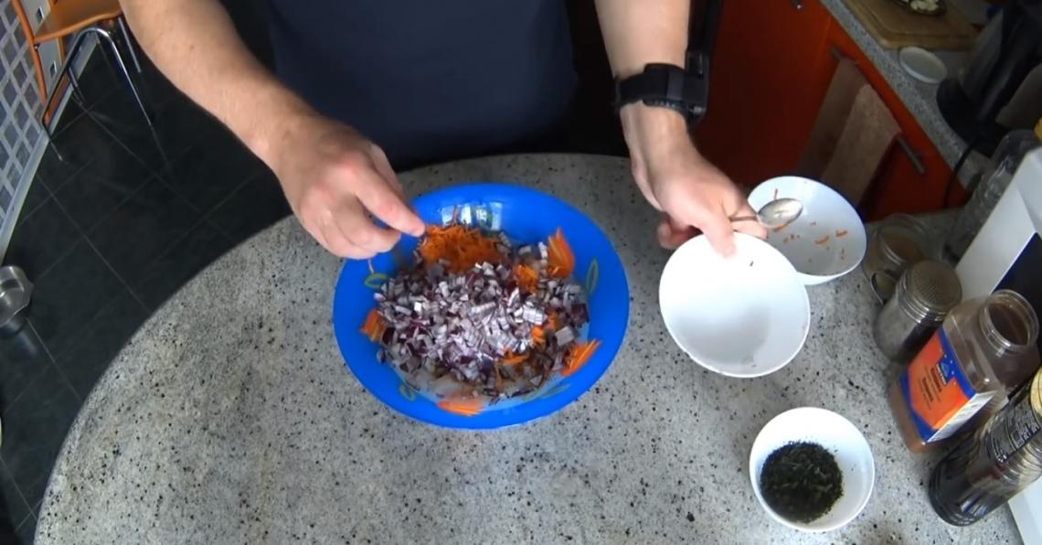 Фото лук репчатый филе судак специи