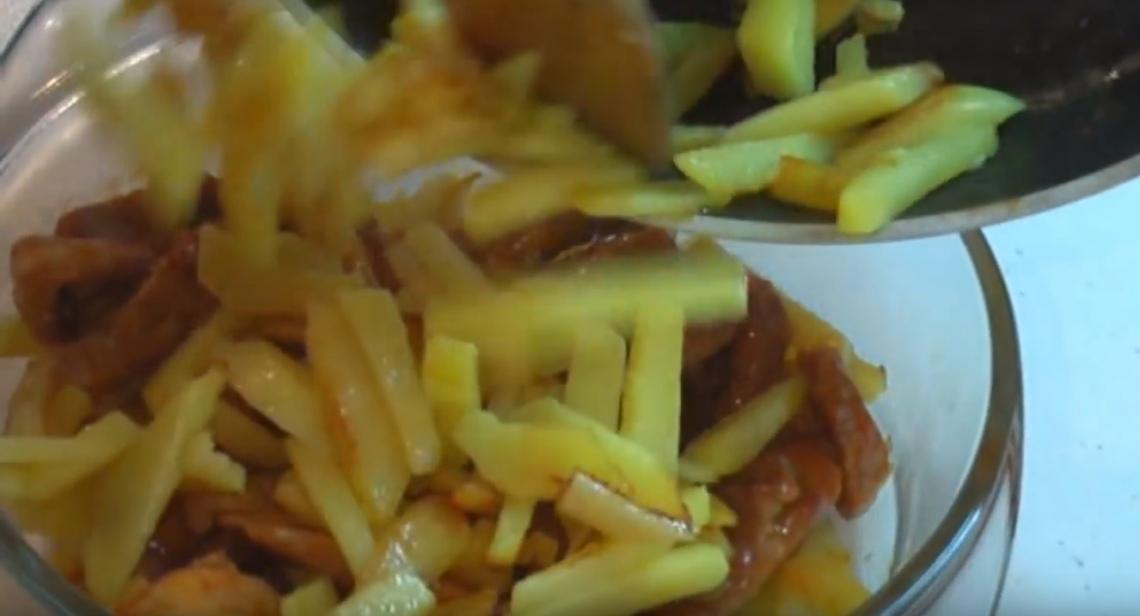 Фото картофель мясо
