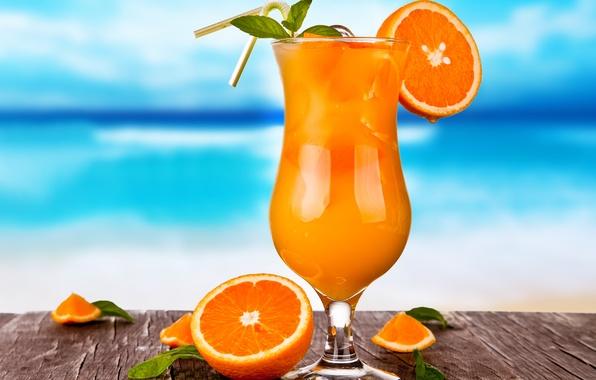Апельсиновый Фреш с Мятой